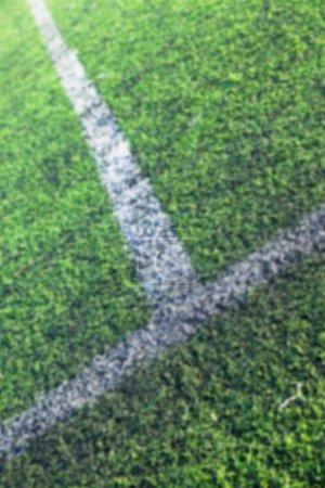 markings on the stadium