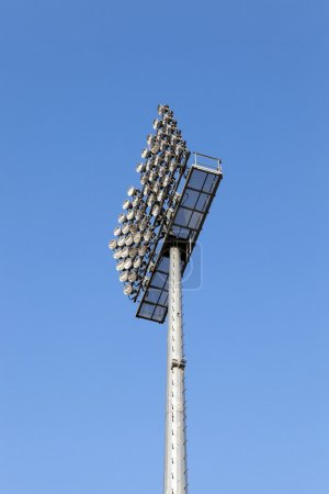 The stadium lighting