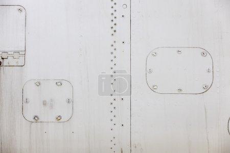 Aircraft metal cladding