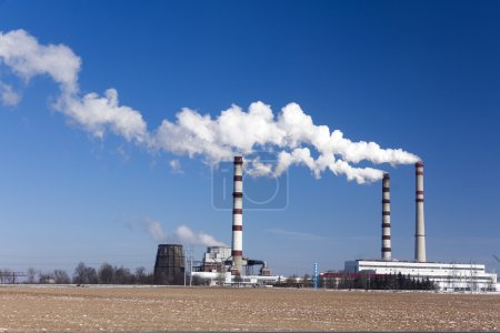 emisje przemysłowe