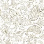 Květinový vzor bezešvé pro látky a dekorace