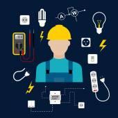Profi villanyszerelő-elektromos eszközök és berendezések