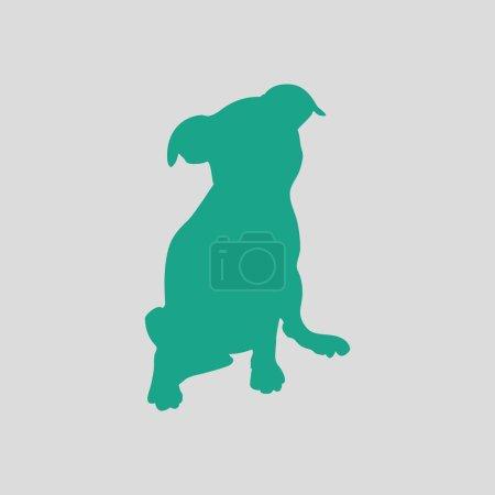 Green puppy icon
