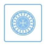 Постер, плакат: Roulette wheel icon