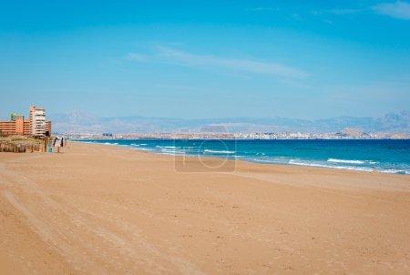 Los Arenales del Sol beach. Spain