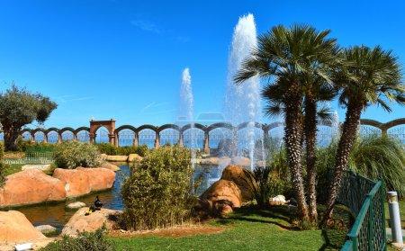 Picturesque Marina d'Or garden