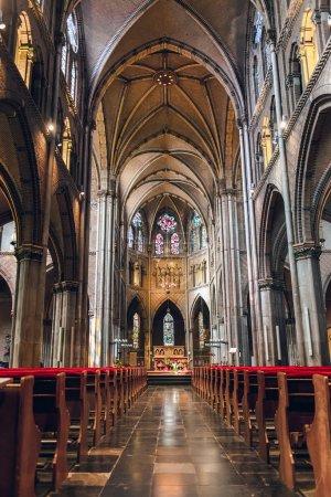 Inside of roman catholic Saint Catharine Church