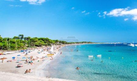 Las Salinas beach. Ibiza