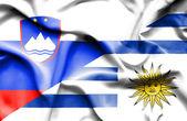 Integetett zászló uruguay és Szlovénia