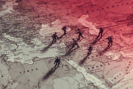 Photo pour Le conflit au Moyen-Orient. Photo conceptuelle - image libre de droit