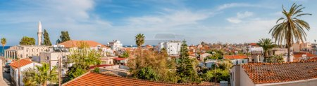 Larnaca. Cyprus. Panorama of old town