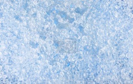 Photo pour Fond de motif de glace écrasée. gros plan . - image libre de droit