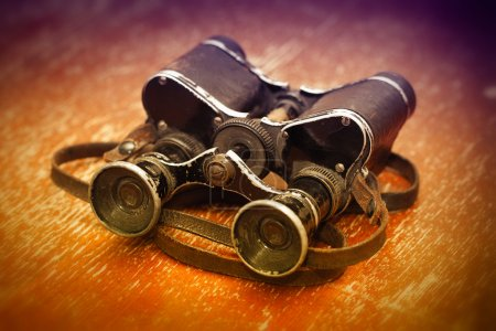 Trophy of the Second World War: the officer binoculars
