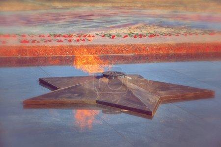 ewige flamme in erinnerung an den