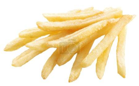 Photo pour Pomme de terre - frites français sur fond blanc. - image libre de droit