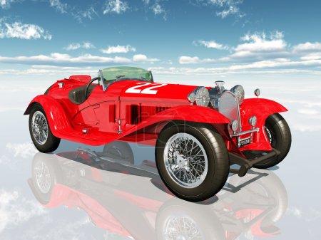 Italian Racing Car from the 1930s