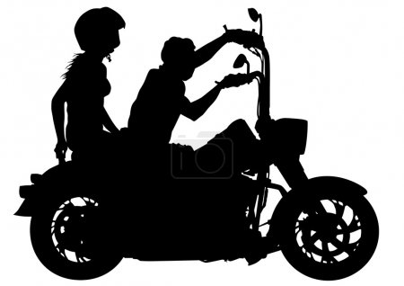 Bikers couples