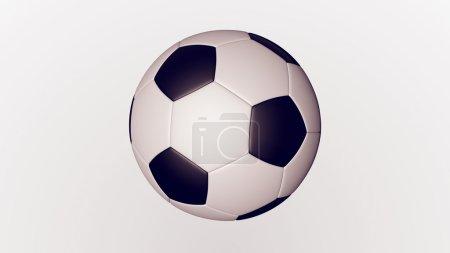 soccer white and black coloured ball