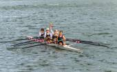 Sculling rowing team