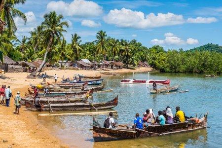 Old Madagascar Fishing Village