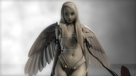 young blonde angel