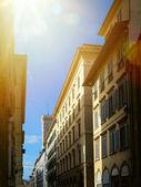 art Old town street