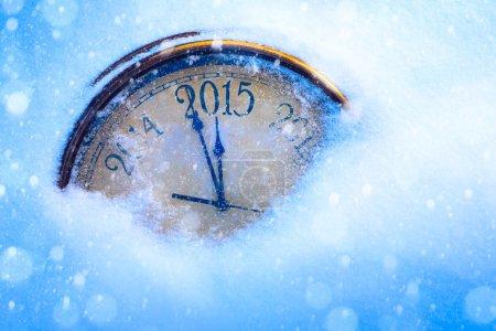 Foto de Arte 2015 Navidad y año nuevo - Imagen libre de derechos