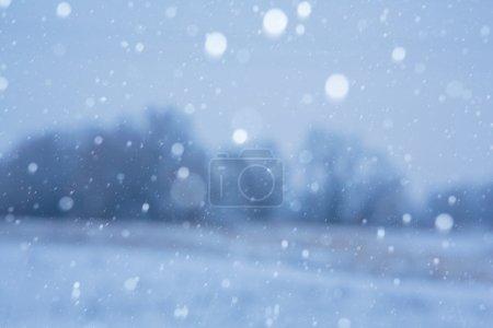 Photo pour Fond neigeux - image libre de droit