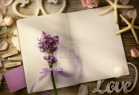 Photo for Art summer love story background - Royalty Free Image