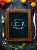 Café menu restaurace brožura. Šablona návrhu potravin