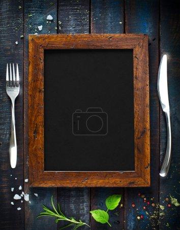 Photo pour Restaurant café menu, modèle de conception. Dépliant de la nourriture - image libre de droit