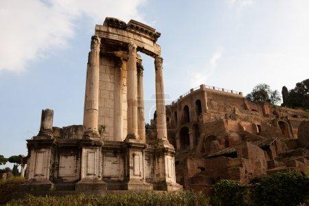 The Temple of Vesta
