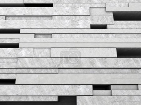 illustration of concrete blocks