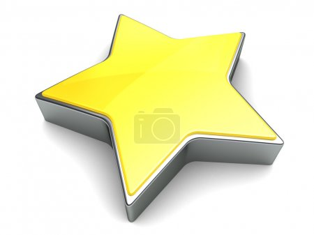 3d star illustration