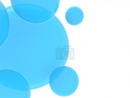 blue spheres illustration