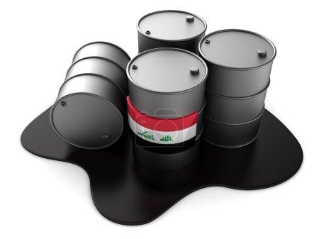 Iraq oil barrels