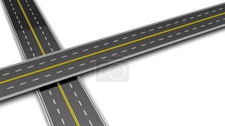 Two roads cross