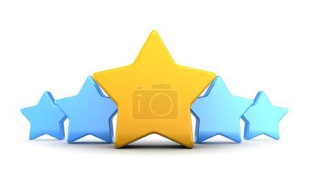 Stars rating symbol