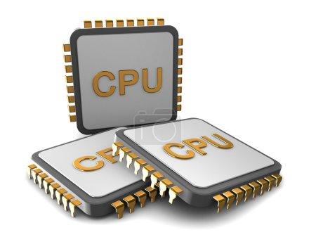 three processors concept