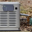 A home backup generator for use during power outag...