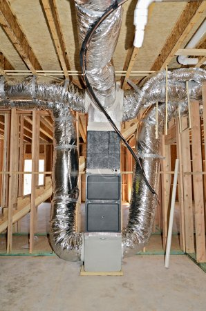Interior Details of Home Construction