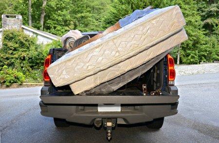 Moving Belongings in a Truck