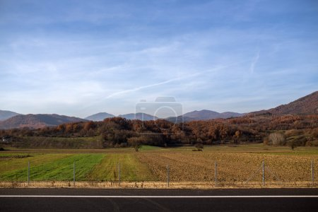 Photo for Beautiful Arable land view - Royalty Free Image