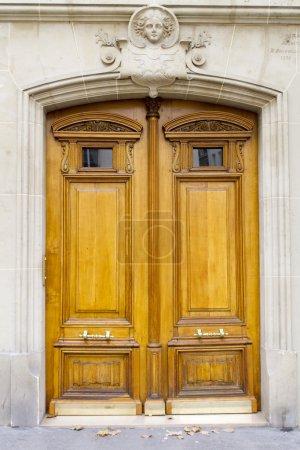 Parisian door view
