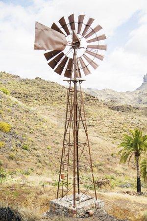 Windpump on Gran Canaria island