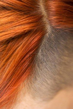 Partin red hair