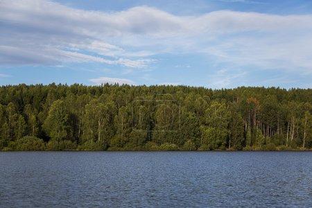 Lake Vlasina in Serbia