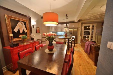 Luxury apartment interior