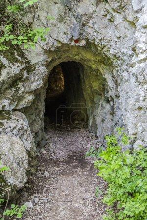 Small cave in Romania
