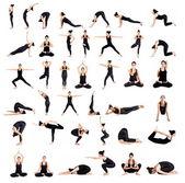 "Постер, картина, фотообои ""Женщина йога обучение"""